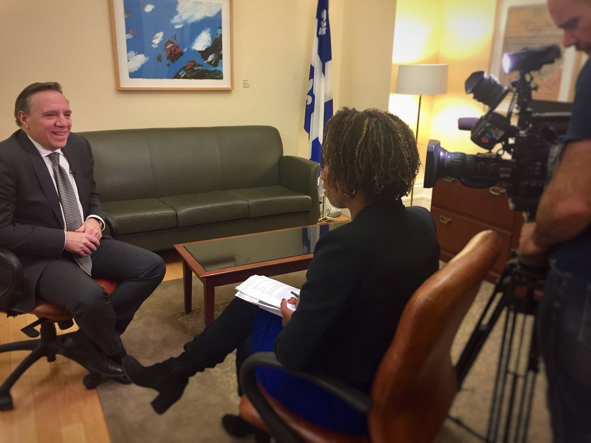 Very nice interview with @CTVMontreal and @MJohnsonCTV this afternoon for the 6th anniversary of the #CAQ don't miss it on Friday night! <br>http://pic.twitter.com/duC7Tm0Wr5