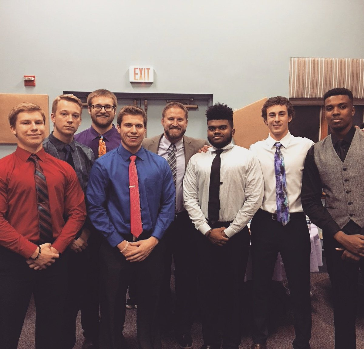 Thank you for all of your hard work Seniors of #TEAM50 Be sure to take the WIN THIS ONE mindset with you into every phase of life.  You&#39;ll need it as a husband, father, student, worker, and in your walk with/ the Lord #WTO <br>http://pic.twitter.com/Q0mM4GgVcf