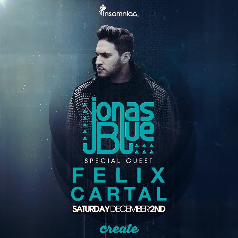 Just announced! Tickets on Sale Now! https://t.co/IoCn9Ohjb0 cc: @JonasBlue @felixcartal https://t.co/y4pzikDJ0t