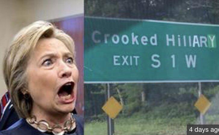 All roads lead to #Crooked @HillaryClinton - #LockHerUp #UraniumOne #TrumpDossier #RiggedDNC -&amp; somebody PLEASE get #JeffSessions a damn #GPS!<br>http://pic.twitter.com/cJhVKgwQJ4