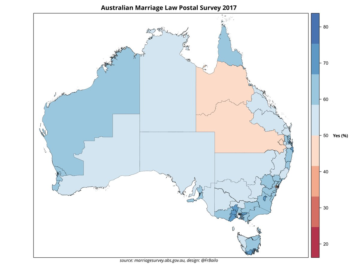 Francesco Bailo On Twitter Marriageequality Vote Results Mapped