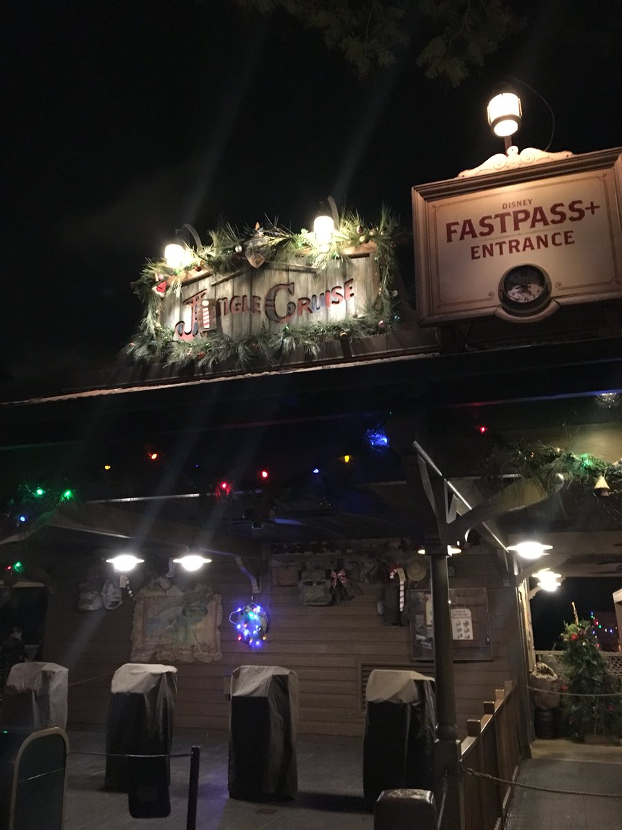 RT @Park_Journey: Going for a ride on the Jingle Cruise. #VeryMerry #mvmcp https://t.co/9BucD9mfgQ
