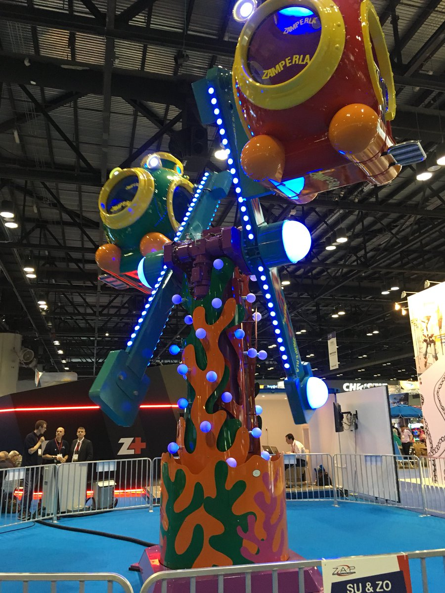 Of course @IAAPAHQ is also known for all of the random flat rides, kiddie rides, and inflatables! #IAE17 <br>http://pic.twitter.com/wwVBAKvEQq