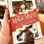 Yahoooo! My book, The Magic Misfits, just arrived. Can't believe it's about to be released to the public. In less than a week! I'm a tad nervous, but very proud. I hope kids of all ages will diggit. Order a copy and tell me what you think! @TheMagicMisfits