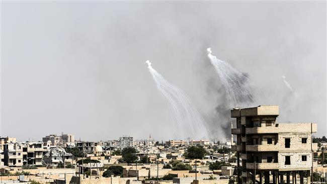 #Russia accuses #US of providing air cover for #Daesh in #Syria  http:// ptv.io/2UaC  &nbsp;  <br>http://pic.twitter.com/fDvzzX4KAe