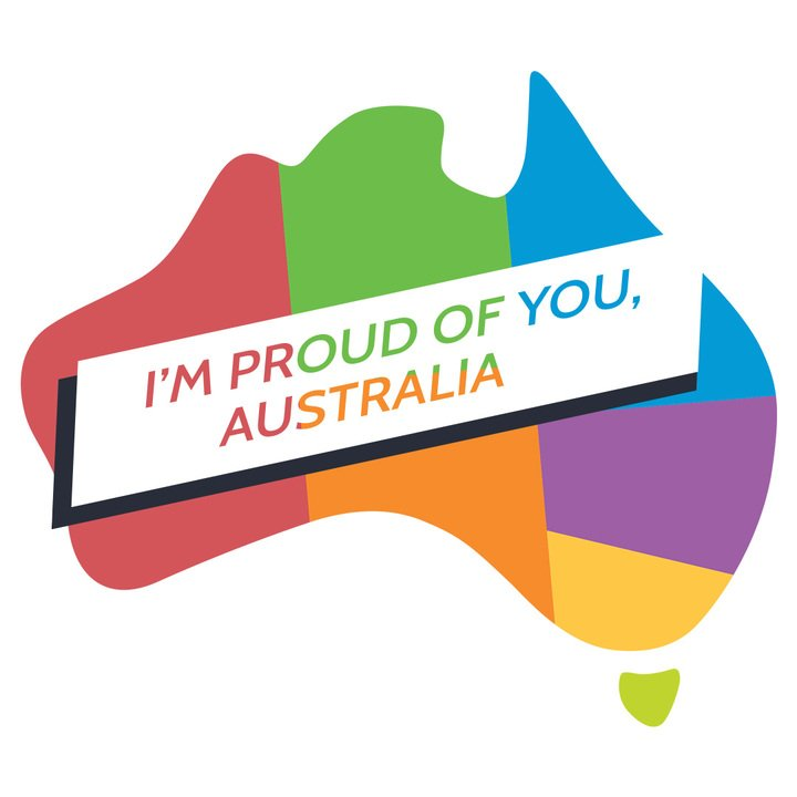 It's a g'day. Way to go Australia. #MarriageEquality
