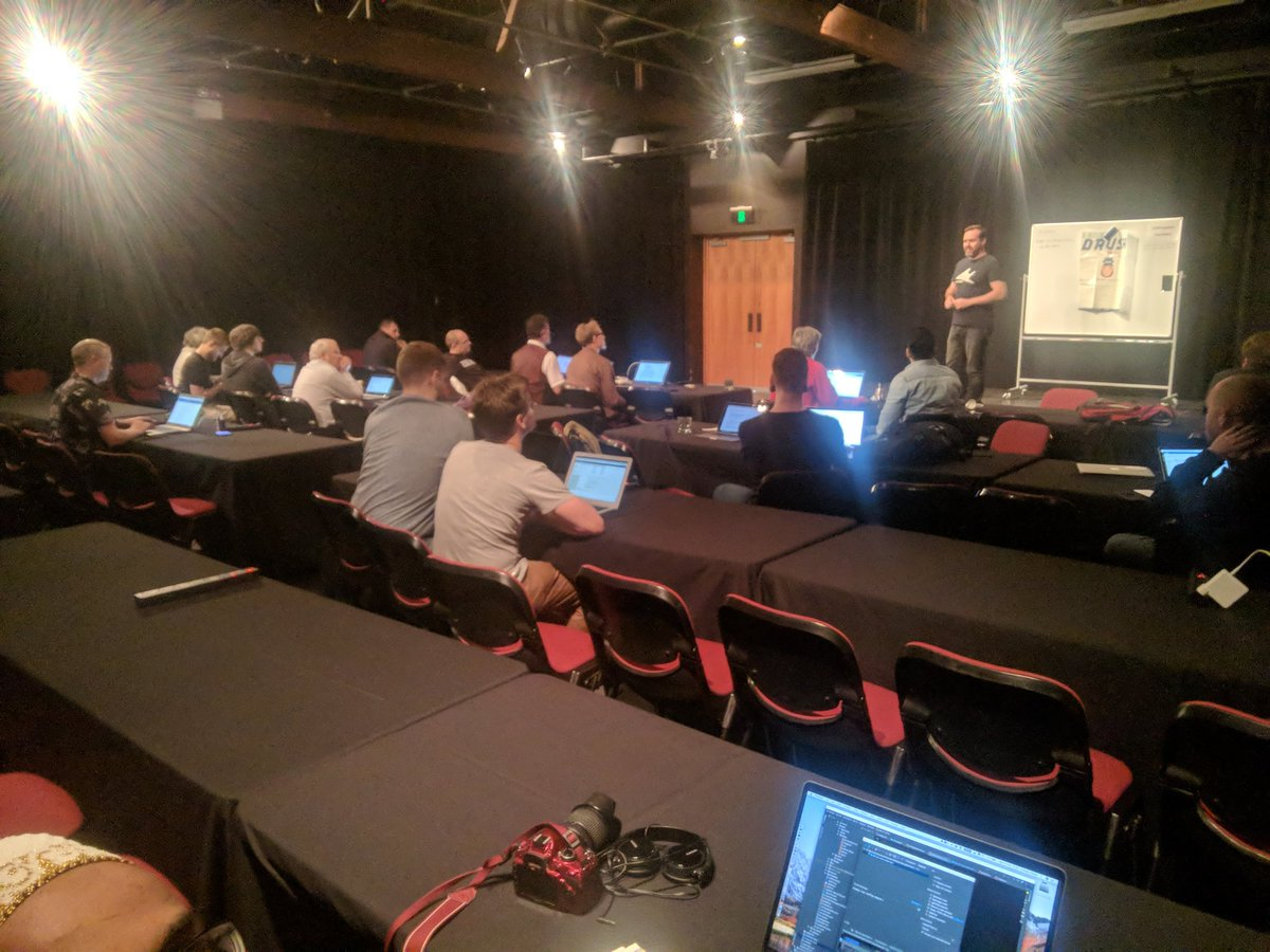 current status writing patches for drupal at drupalsouth sprint thanks for sponsoring