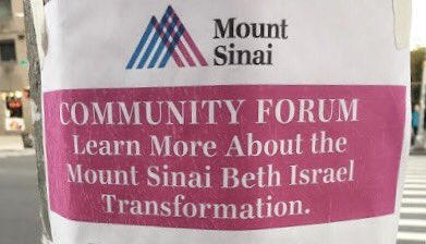 #LES neighbors: Concerned about the Beth Israel transformation? Join me at a community meeting with hospital representatives tomorrow 11am at Meltzer Senior Center, 94 E 1st St. #communityhealth @CarlinaRivera<br>http://pic.twitter.com/ygWHBuhIQC