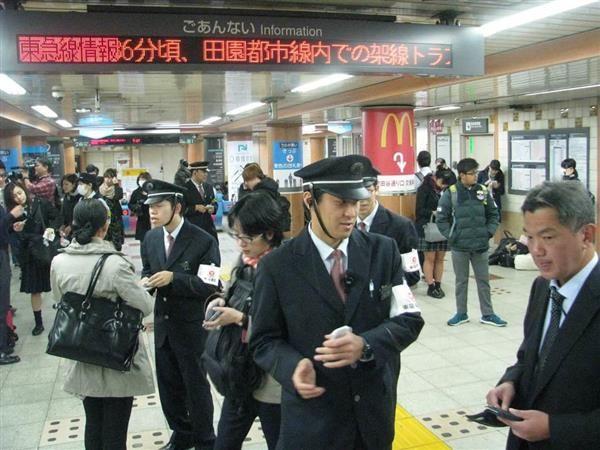 田園都市線、再開の見通し立たず 通勤時間に運転見合わせ 振り替えのバスに長蛇の列 sankei.co…