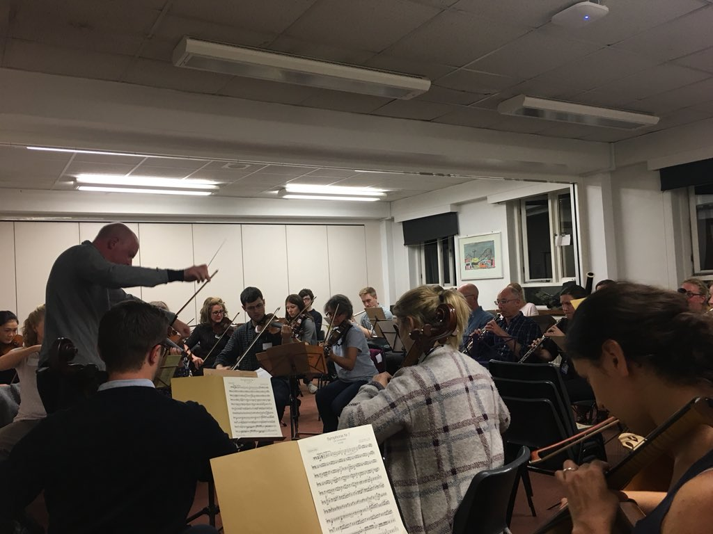 First rehearsal of the Trust Orchestra this evening-unbelievable! @Imperialpeople @ImperialCharity #orchestra <br>http://pic.twitter.com/3sHWBsRwZA