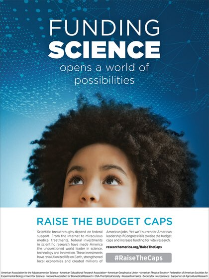 .@NSF, @NIH, @NASA &amp; others keep the US @ the forefront of discovery &amp; #innovation but can't do so w/o robust funding. #RaiseTheCaps #AccelerateResearch @LADAOrg @AWIRGROUP @ACRheum @ResearchAmerica @patientaccess @NHCouncil<br>http://pic.twitter.com/Ms6TKfFNdc