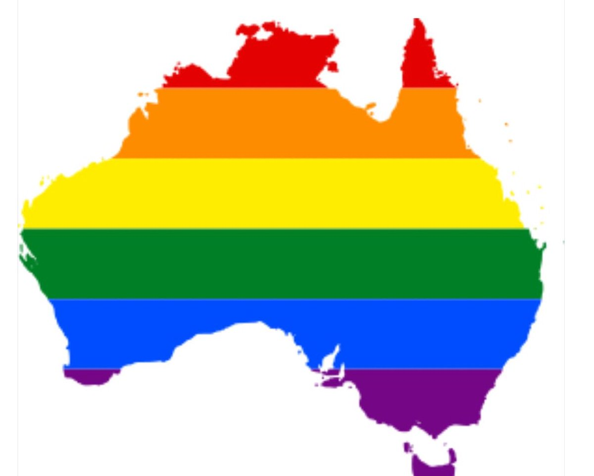 Today is a great day for human rights. #Australia says YES to marriage equality. BRAVO! This makes me so happy. https://t.co/pCLUOhvD06