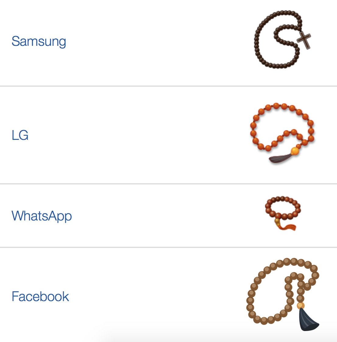 misty on twitter til the prayer bead emoji is obviously buddhist