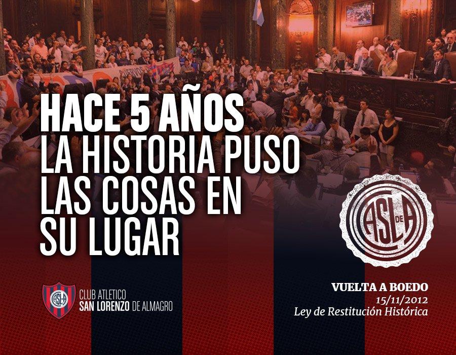 RT @SanLorenzo: #Feliz15N 🙋🙋♂️💙❤️💙🔄💪🎉🎊🙆♂️🙆 https://t.co/ZzftMeOEiS
