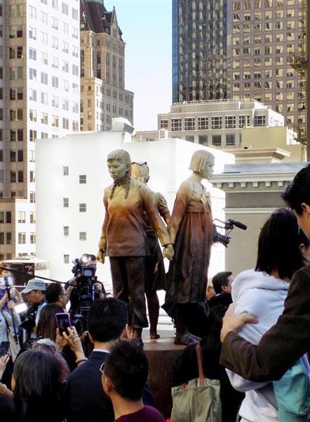 米サンフランシスコ市議会、慰安婦像の寄贈受け入れ決議可決 大阪市は姉妹都市解消か  sankei.c…