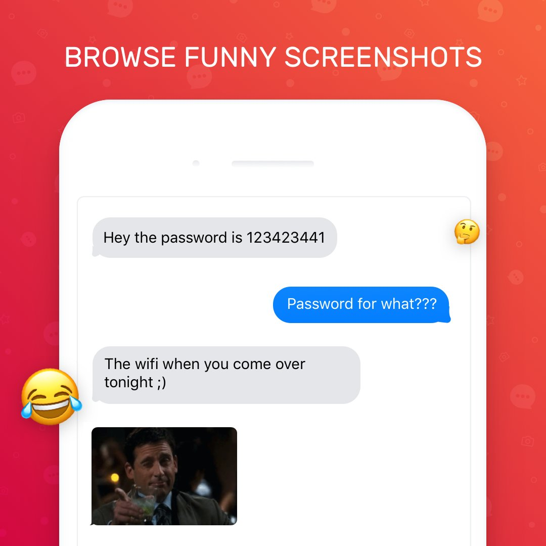 Convo On Twitter What Are You Waiting For Download Convo On The App Store Today And Share Your Funniest Screenshots Https T Co Nmbfllpgk