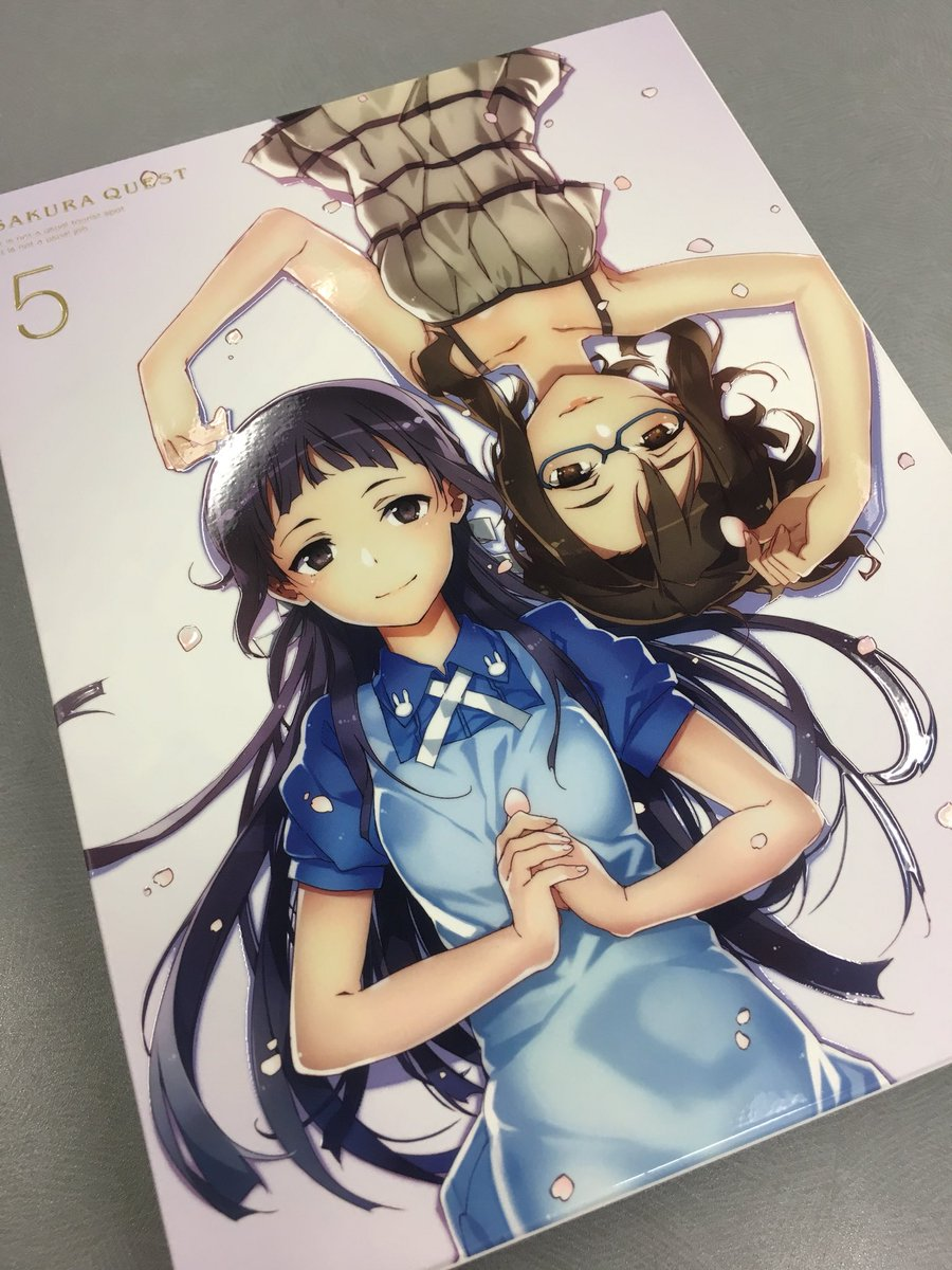 ট ইট র Tvアニメ サクラクエスト 出勤中 本日発売