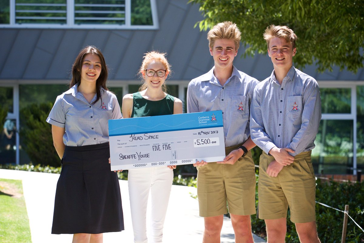 Well done to Sheaffe House who raised $5.5k from the Mini Fete for @headspace_aus to assist young people in the #CBR region.