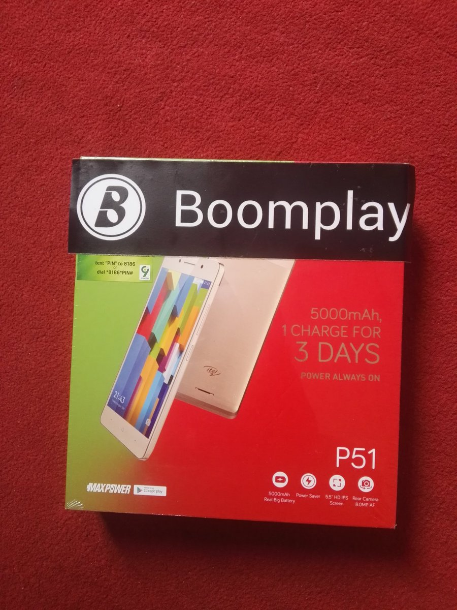 I want to say a BIG thank you to @OfficialNiniola and @BoomplayMusicNG for this beautiful smartphone given to me as a gift, I really appreciate you, God bless you more. #ThisIsMe #BoomplayMusic <br>http://pic.twitter.com/ZvdfrkYwum