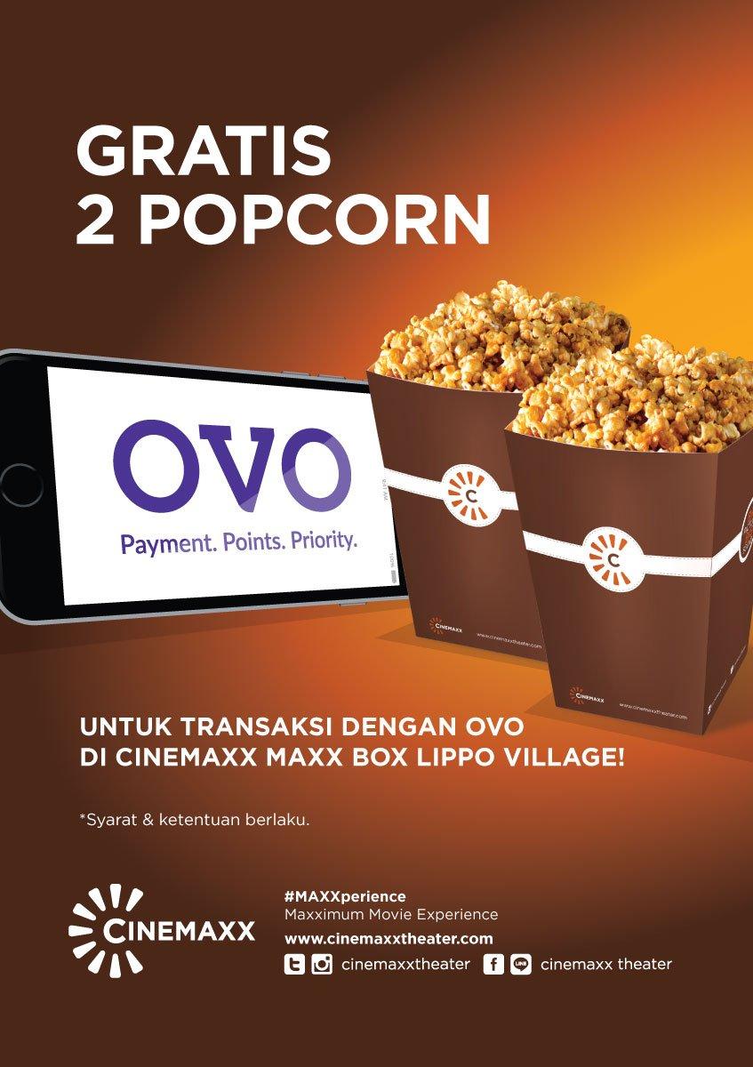 Cinemaxx Theater On Twitter Gratis Popcorn Setiap Pembelian Tiket