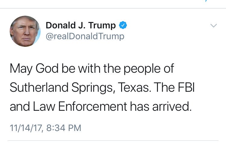 Image result for Trump deletes tweet that appeared to reference wrong mass shooting