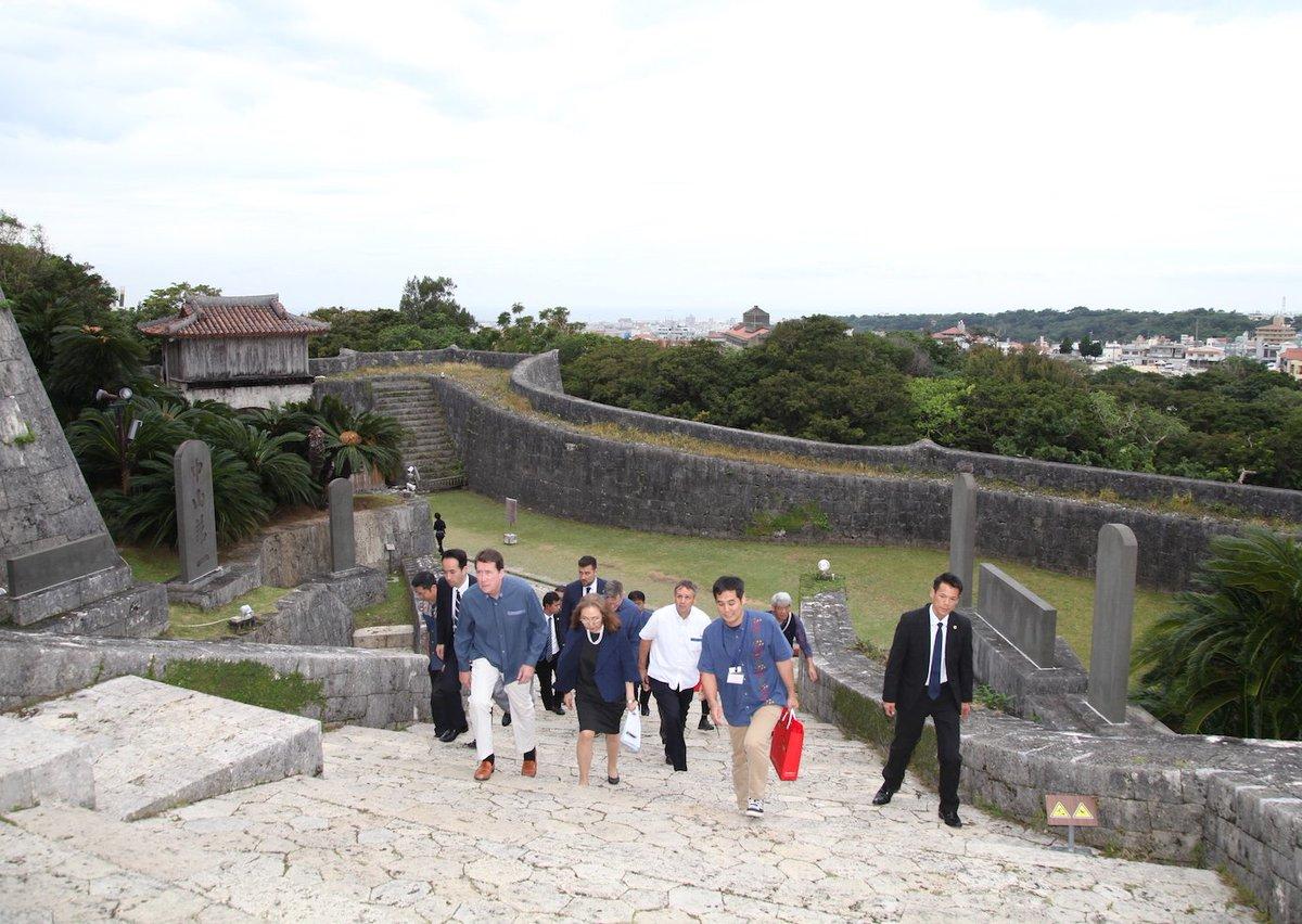 非常に実りある旅になりました。地域の安定と日米同盟のために沖縄が果たしている重要な役割に深く感謝しま…
