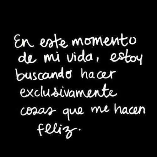 #LaVerdadYoNecesito ser feliz y punto. 😇...