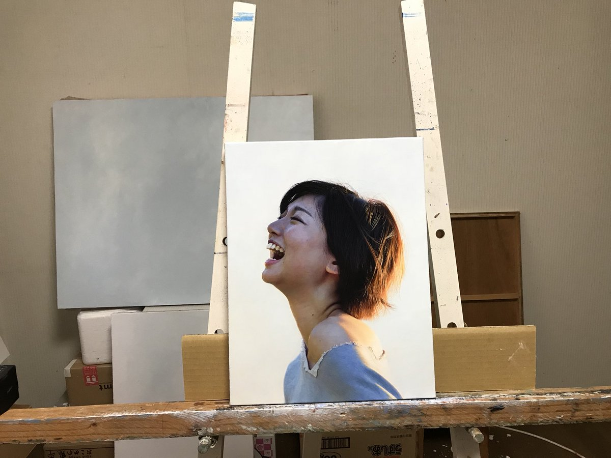 RT @mienokei: #art #oilpainting https://t.co/PN0sJSieHe