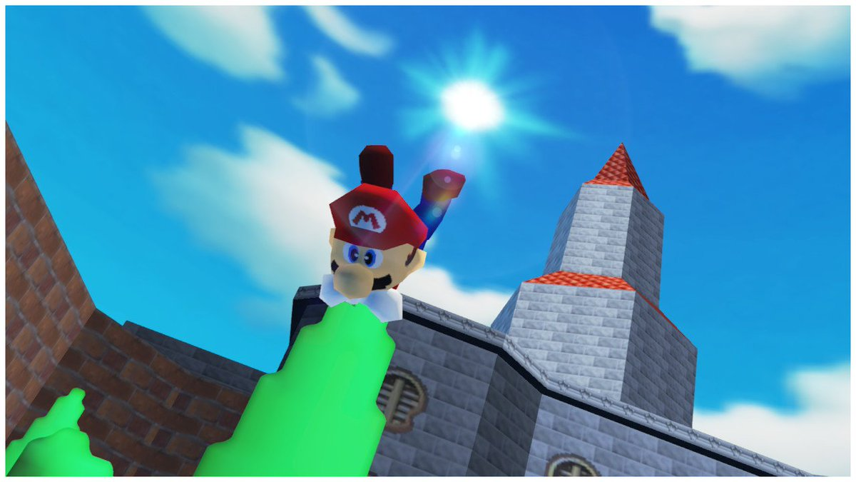 What game is this? #SuperMario64 or #SuperMarioOdyssey #N64 #NintendoSwitch https://t.co/lIYRB2R8y7