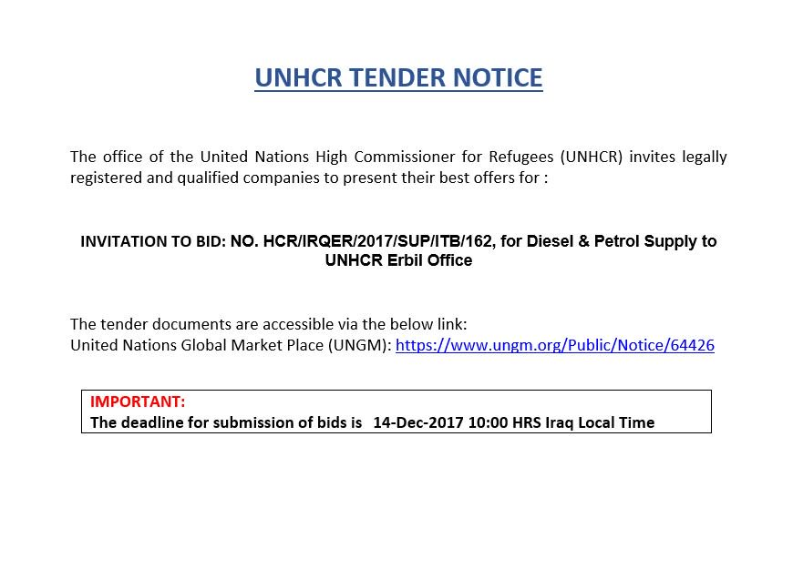 UNHCR SUPPLY IRAQ (@UNHCRSUPPLYIRAQ) | Twitter