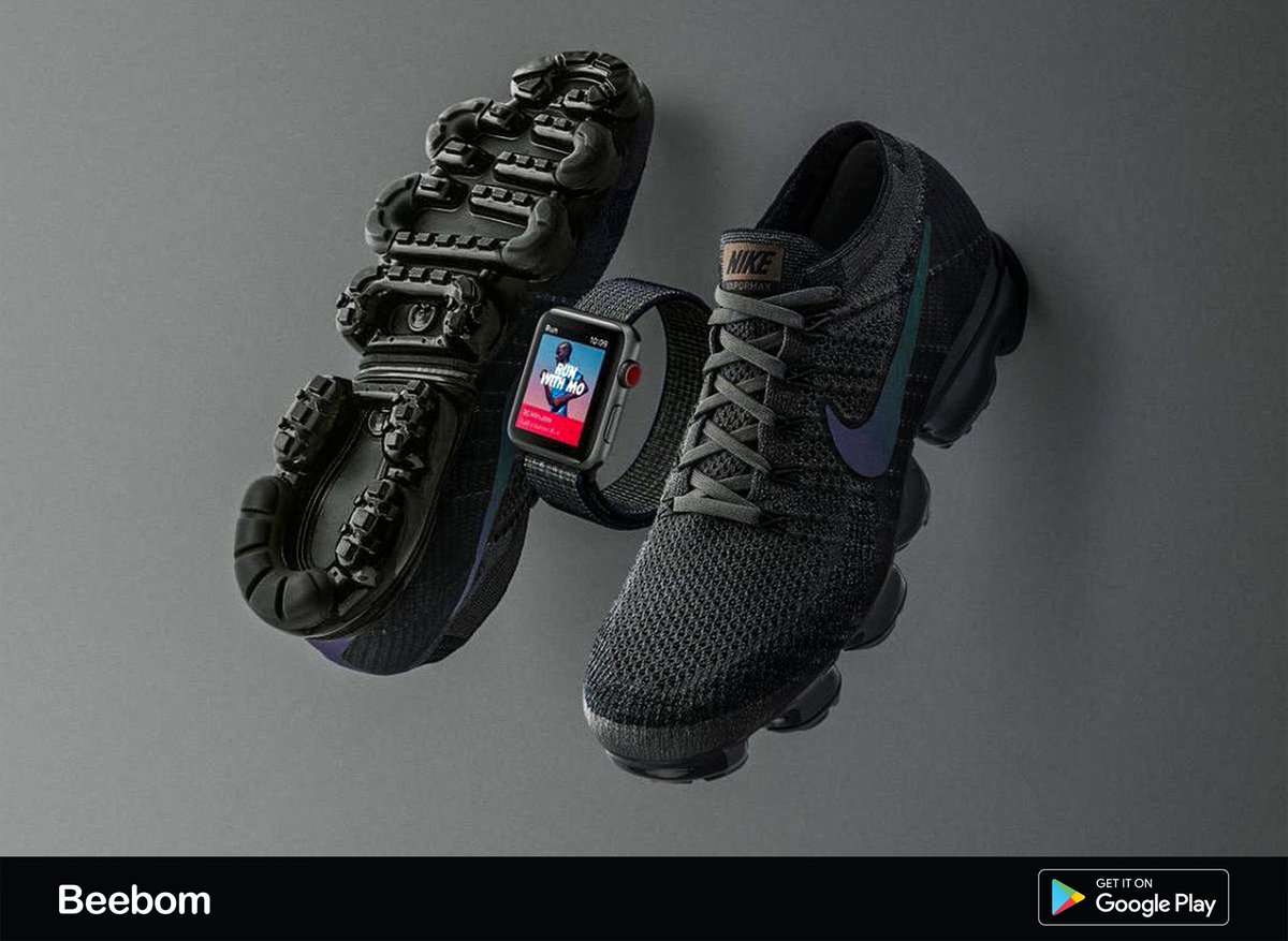 37448209f9c8d  Nike is releasing a limited edition Midnight Fog  AppleWatchSeries3 with  LTE to match its upcoming  AirVaporMax running shoes. pic.twitter .com 9tSH6m0uWH
