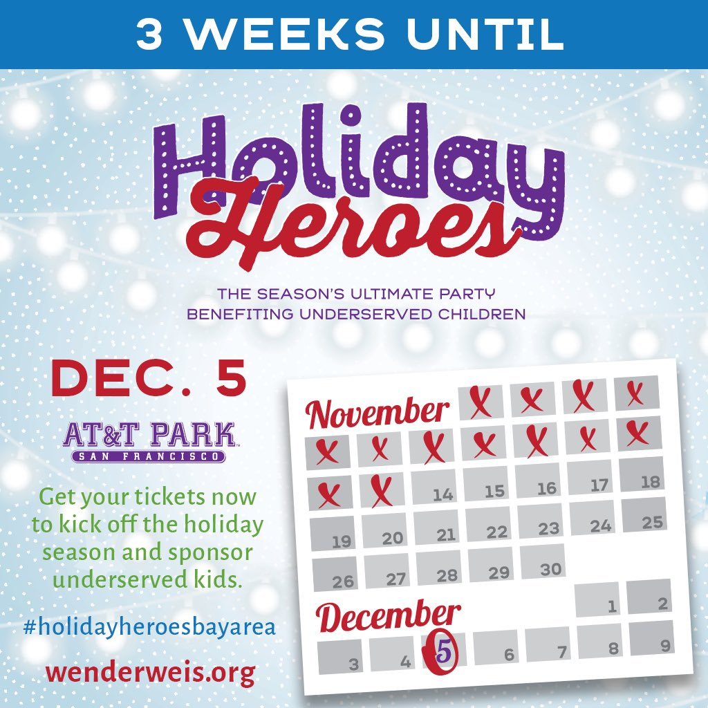 3 weeks to go until #holidayheroesbayarea. Come meet #barrybonds @jstaley74 @SollyThomas90 @BarryBonds @jonnymoseley @AmyGGiants and more! Thanks for all of your support!  http://Www. holidayheroes.eventbrite.com  &nbsp;  <br>http://pic.twitter.com/KW49FnZE0Y