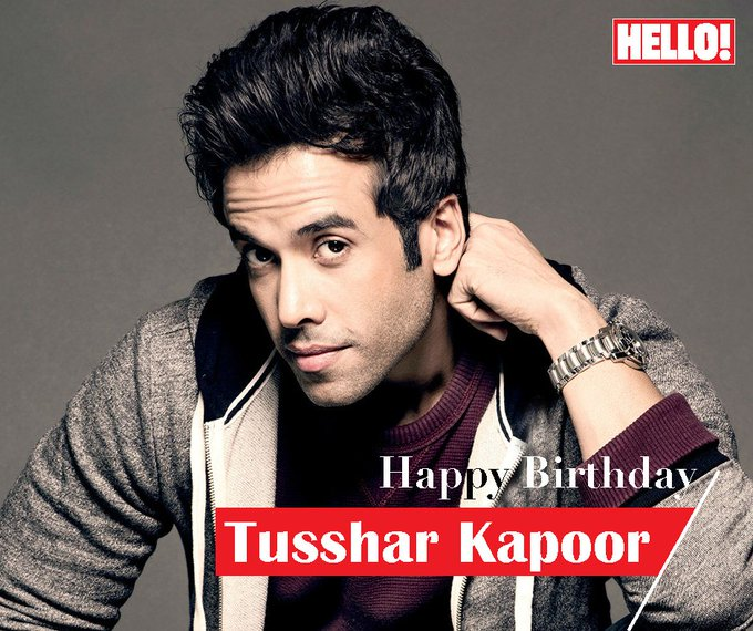 HELLO! wishes Tusshar Kapoor a very Happy Birthday