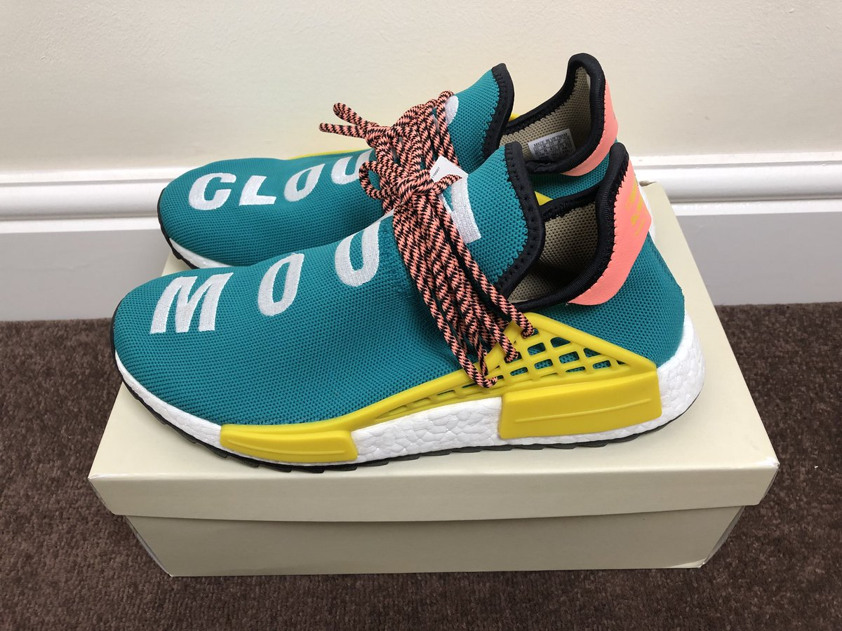 40be908ca34fe For sale at now only £300! The  adidasoriginals x  Pharrell NMD HU Trail in  UK9 size! Available via our  depop store at http   depop.com clickcreps ...
