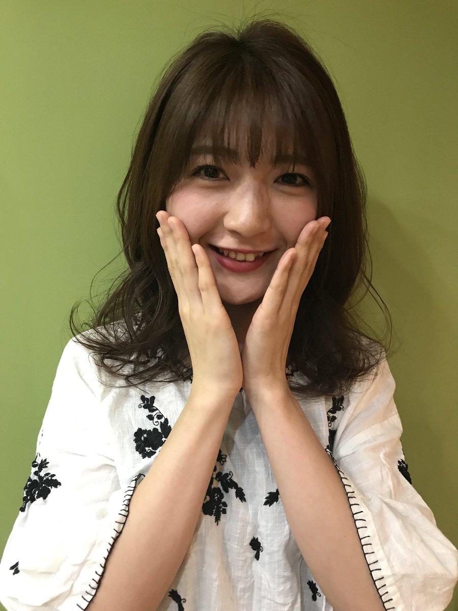 前髪あり森ティーおかえり〜☺️❤️ #アプガ