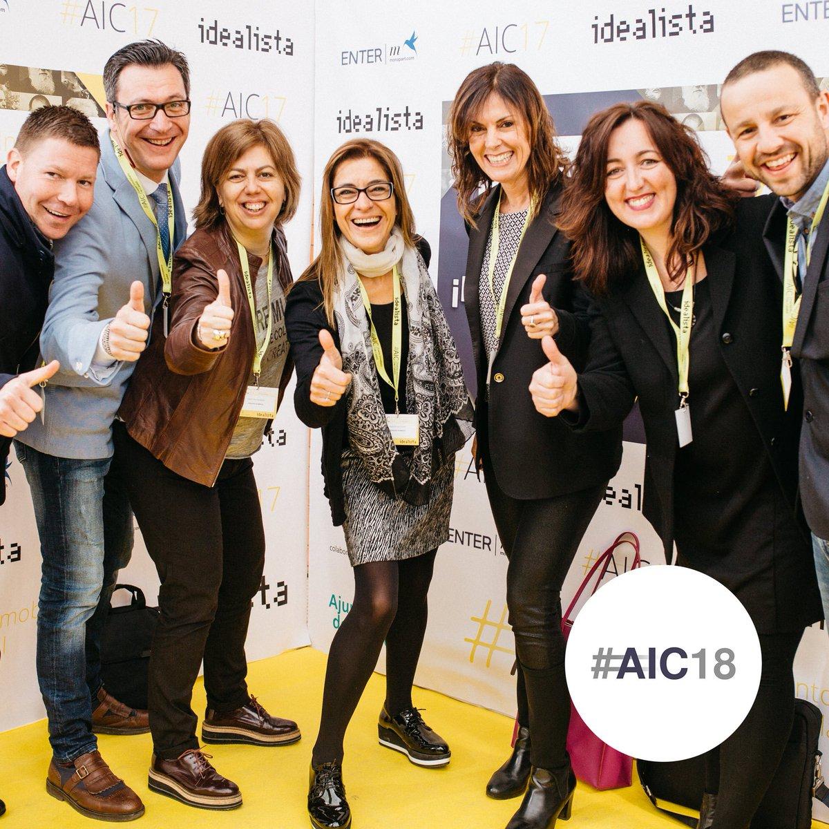 !Recuerdos de #AIC17! #AIComingsoon #AIC18 #Calafell #Inmobiliarios