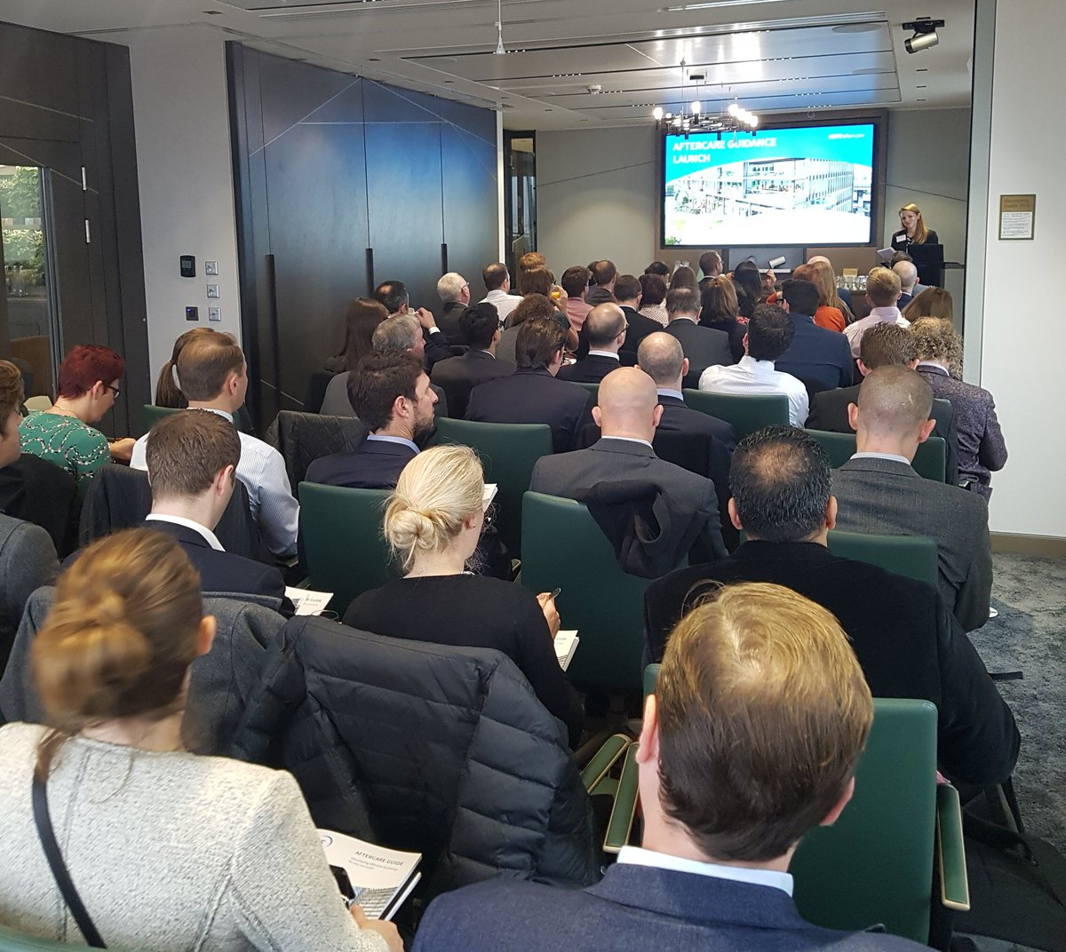 RT @BritProp Packed room at @TheCrownEstate for our Aftercare breakfast seminar! #BPFaftercare