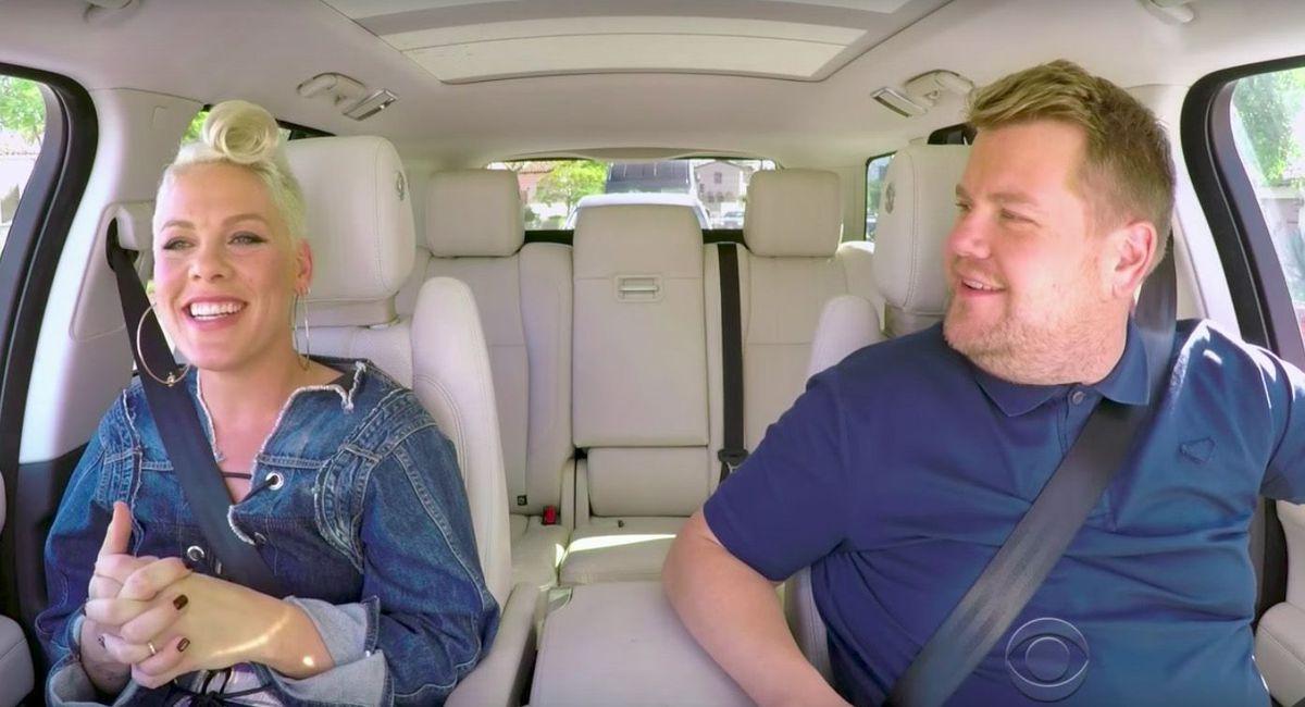 Pink's 'Carpool Karaoke' is here and it'...