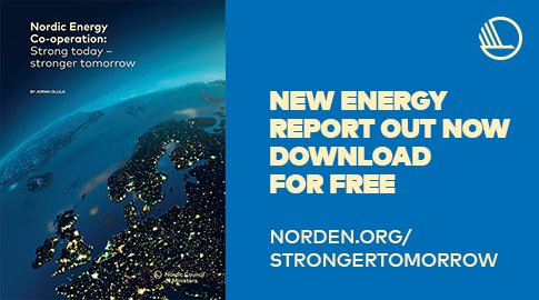 Need inspiration for NORDIC ENERGY DAY at the Nordic pavilion at #COP23? Download for free: Nordic Energy Co-operation: Strong today – Stronger tomorrow by former Nokia boss Jorma Ollila:  http://www. norden.org/strongertomorr ow &nbsp; …  #NordicSolutions #NordicEnergy #Sustainability #sustainableEnergy <br>http://pic.twitter.com/Z5FilXd02S