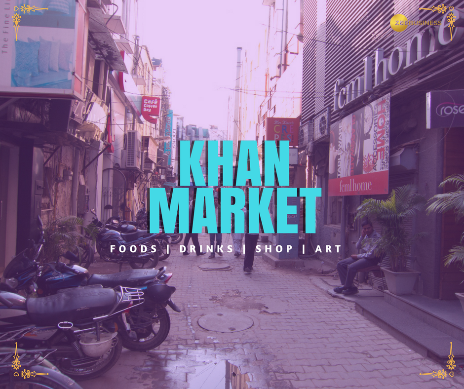 #Delhi's Khan market is the world's 24th most expensive retail hotspot: C&W Report. #KhanMarket