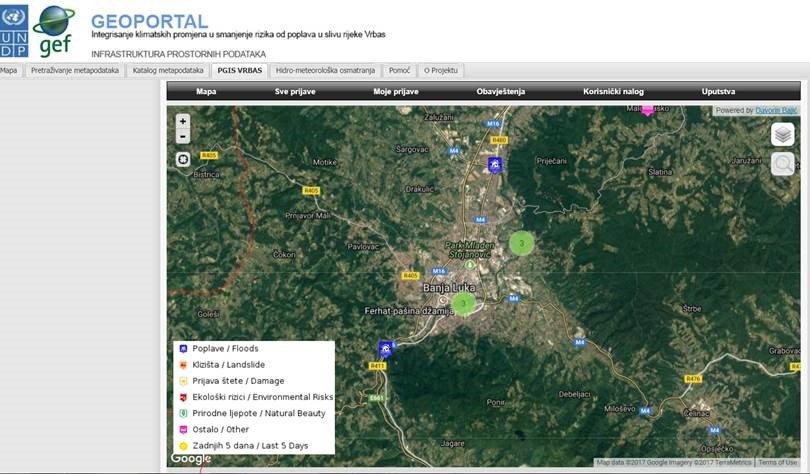Undp Bih On Twitter New Online Tool Pgis Provides Info To
