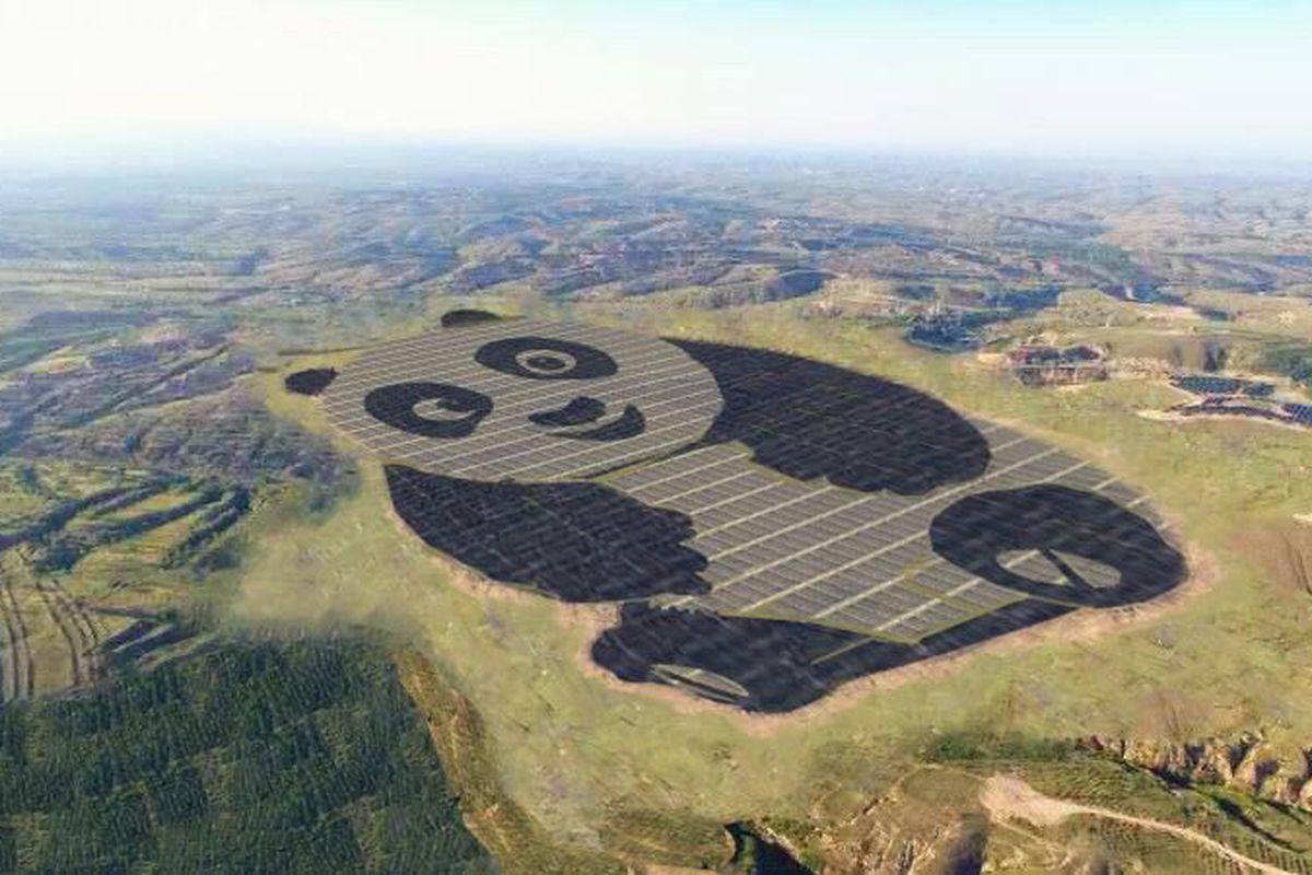 This may be our favorite type of #panda. #RenewableEnergy #Sustainability #china @ren21 #ThinkGreen #SolarEnergy<br>http://pic.twitter.com/jXa3vFqqyd