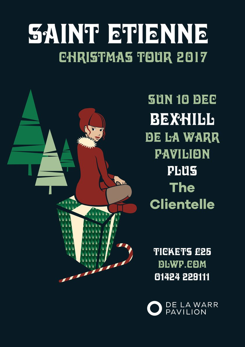 We are pleased to announce that @theclientele  will be supporting #SaintEtienne at #dlwp 10 December. Perfect pre #christmas night out! #livemusic #bexhill @bobpetesarah Tickets from  http:// ow.ly/xKWI30gACqA  &nbsp;  <br>http://pic.twitter.com/eZtmUgcx7E
