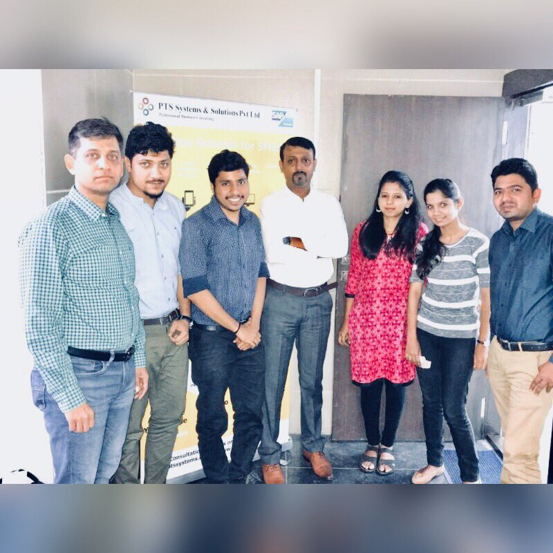 Meeting high performing  @PtsSystems @sachind212 team with @NitinParanjape planning for bigger Q4 Cheers!! #SAPBusinessOne #SAP <br>http://pic.twitter.com/dDzROptV4Z