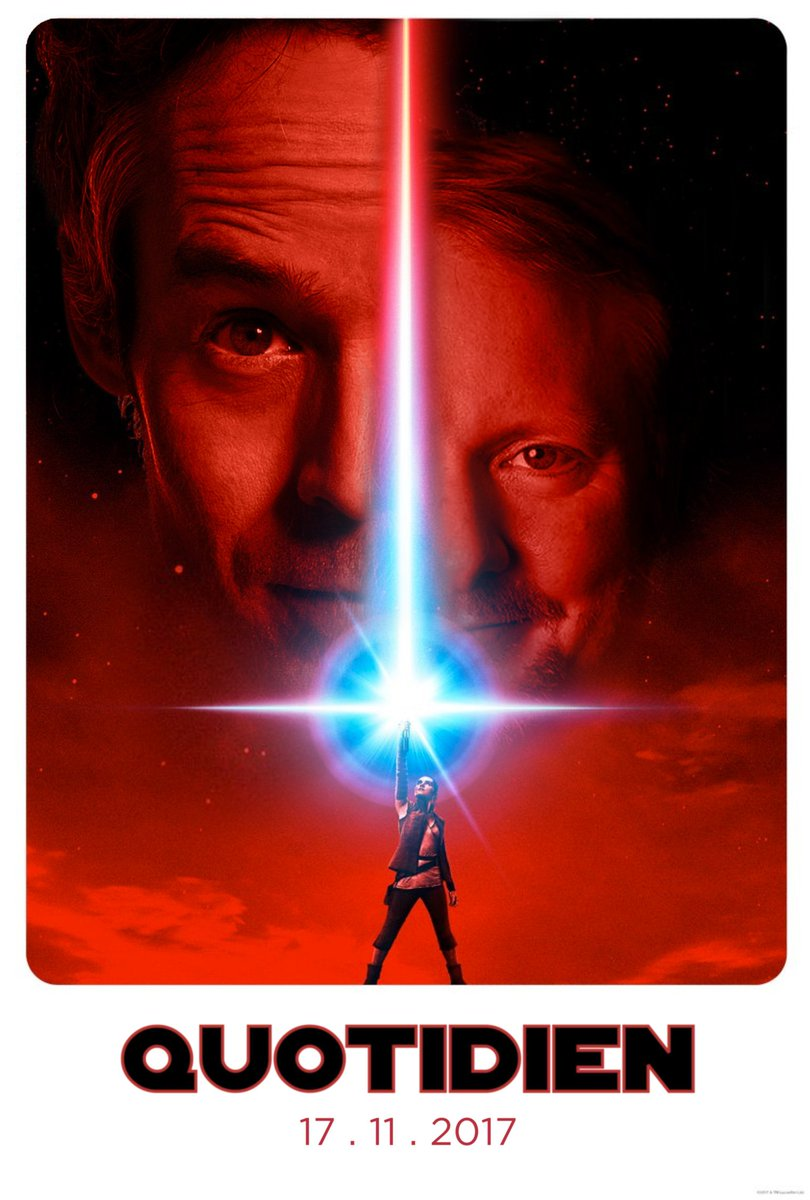 The Force will be strong on friday. #Quotidien #StarWars @rianjohnson<br>http://pic.twitter.com/eXKrbqWh2x