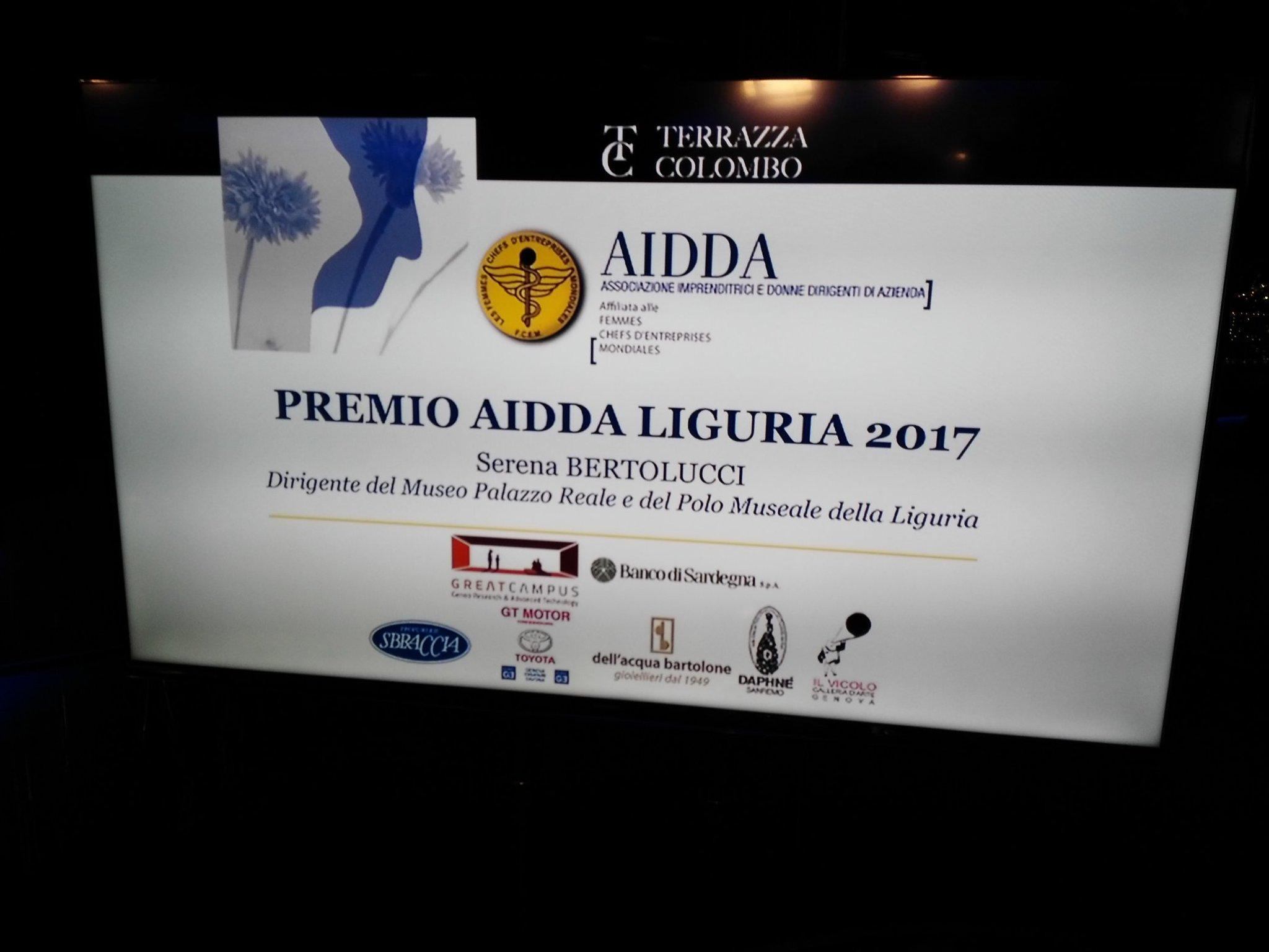 Raffaella Rognoni On Twitter Premio Aidda Liguria