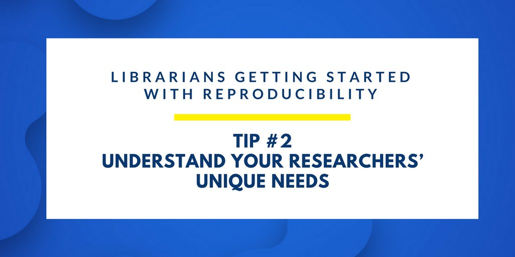 RT @JoVEJournal: #Librarians are natural allies to researchers. This essential partnership will help solve the #reproducibility crisis.  http:// goo.gl/q2F4JQ  &nbsp;   #ScholComm #datalibs #medlibs<br>http://pic.twitter.com/q8O8dKJDHY