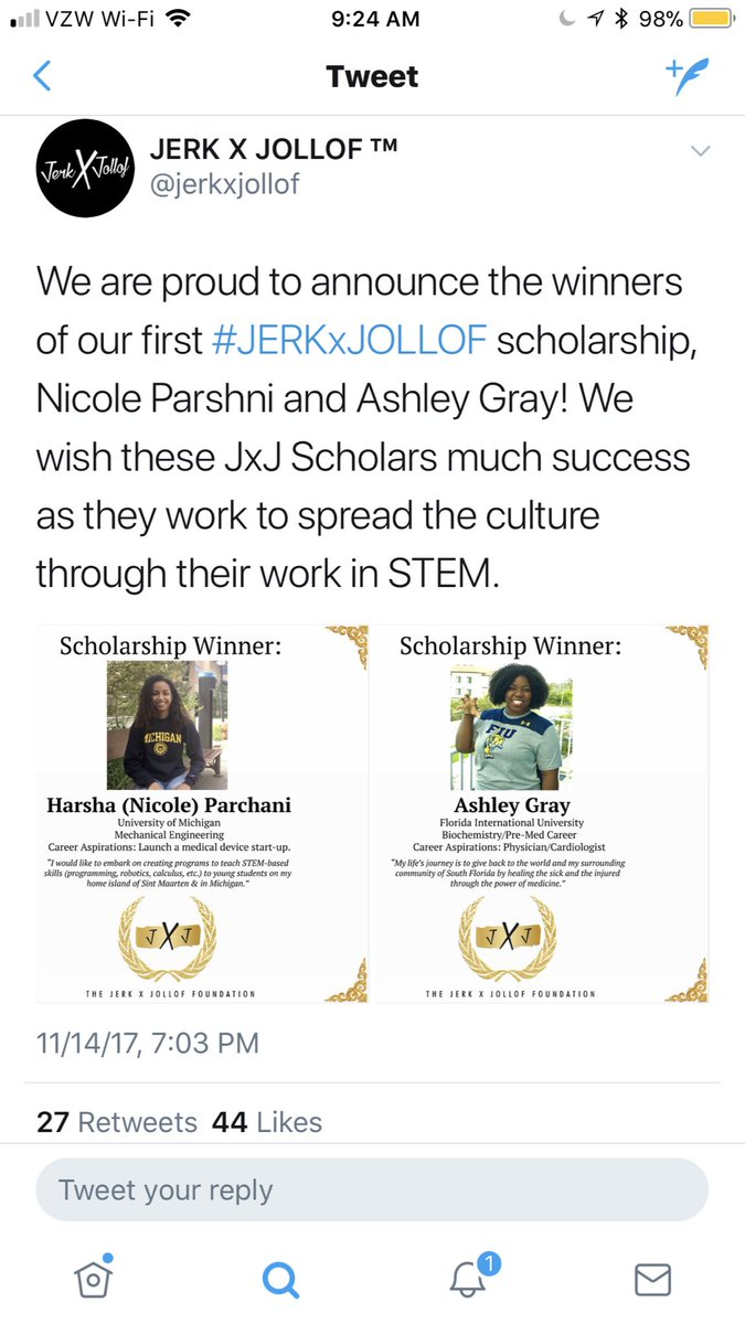 Very proud of these young scientist, and the impact they will exert both as investigators and role models. #JXJFOUNDATION #BLACKandSTEM #URMandSTEM #WomenInSTEM<br>http://pic.twitter.com/JmKmEGuuee