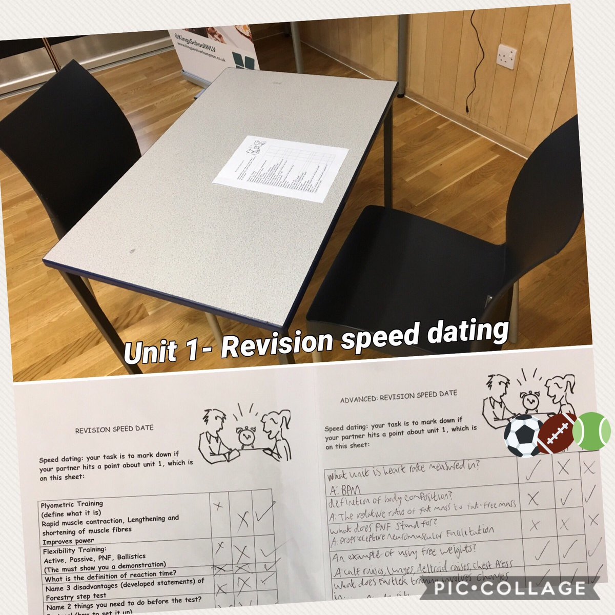 Speed dating training activity definition