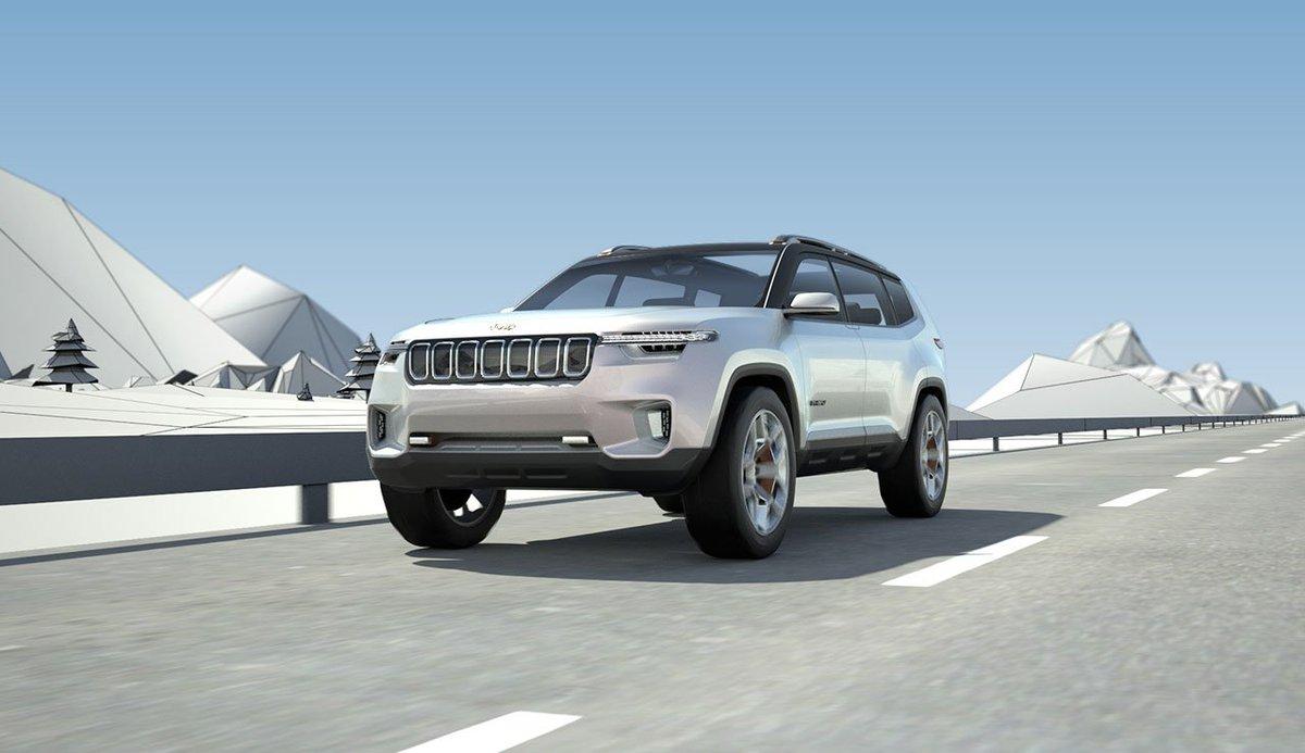 3 Row Jeep >> Autocar India On Twitter All New 3 Row Jeep Suv Take Shape